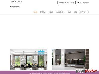 DARK-ROLL - Okna PCV, Drzwi, Rolety