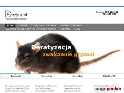 dezyntex.com.pl - Deratyzacja Łódź