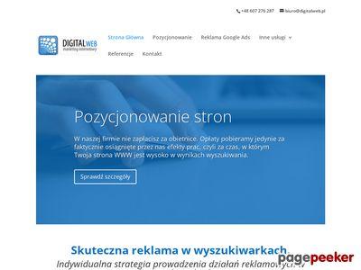 DigitalWeb.pl marketing w wyszukiwarkach
