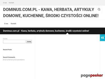 Dominus - Środki czystości, produkty do pielęgnacji i kąpieli w cenie 5 zł.