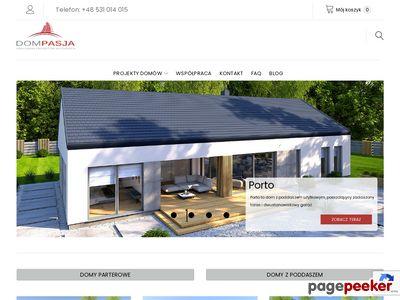 Profesjonalne projekty domów parterowych