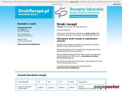 Druki recept