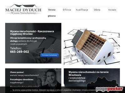 Wycena Dyduch - biuro Wrocław