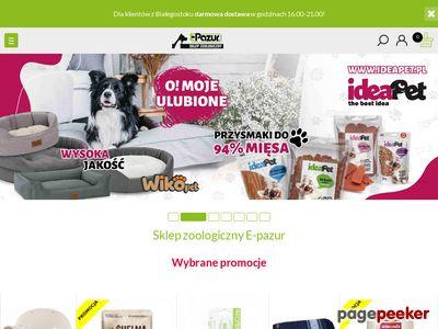 Sklep Zoologiczny Online :: E-pazur Białystok