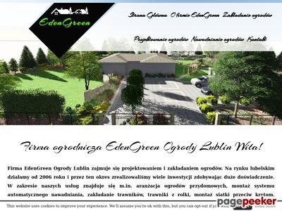 EdenGreen Ogrody Lublin - Projektowanie i zakładanie ogrodów