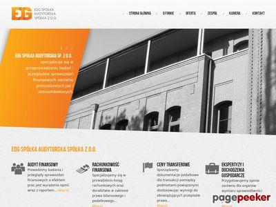 EDG - usługi księgowe, ceny transferowe Poznań