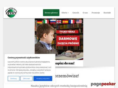 Szkoła językowa Lublin - Efekt
