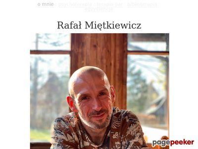 Psychoterapia z Rafałem Miętkiewiczem