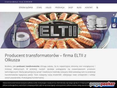 ELTII - Transformatory toroidalne