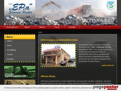 EP,a - kruszenie betonu