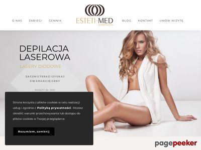Kosmetologia Esteti-Med - depilacja laserowa