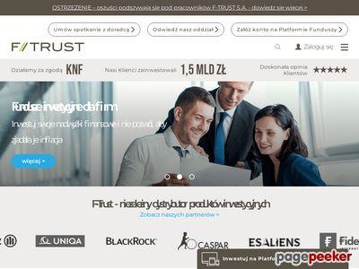 F-Trust - fundusz inwestycyjny