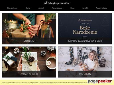 Kosze świąteczne - Fabryka Prezentów