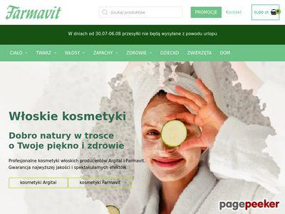 Naturalne kosmetyki - sklep Farmavit,pl