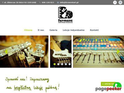 Lekcje gry na perkusji Łódź