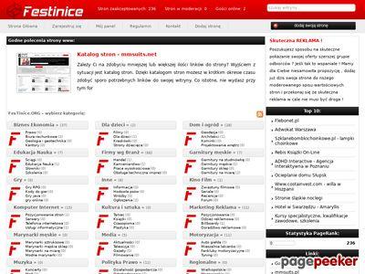 Najlepsze strony WWW - www.festinice.org