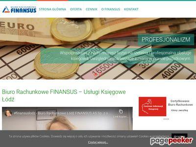 Usługi księgowe łódź - Finansus