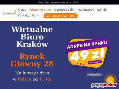 Wirtualny sekretariat - E-biuro Kraków