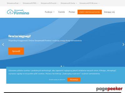 Streamsoft Firmino - Twoja firma online