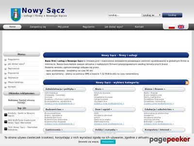 Firmy Nowy Sącz