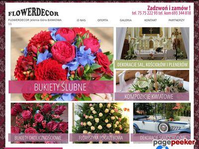 Kwiaciarnia Flowerdecor Jelenia Góra – piękne kwiaty
