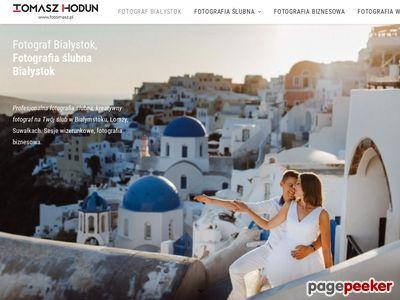 FOTOMASZ Tomasz Hodun - fotograf ślubny Białystok