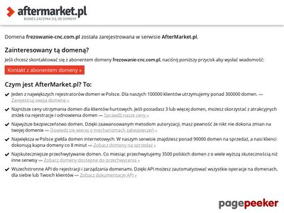 Obróbka CNC Śląsk - EL-BIG