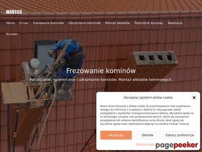 Frezowanie kominów Poznań