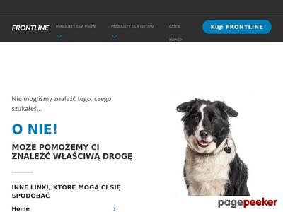 Na kleszcze dla kota - frontlinecombo.pl