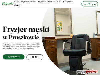 FIGARO fryzjer męski w pruszkowie