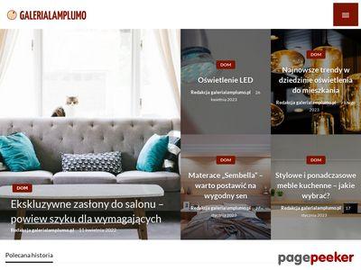 Galeria Lamp Lumo. Oświetlenie!