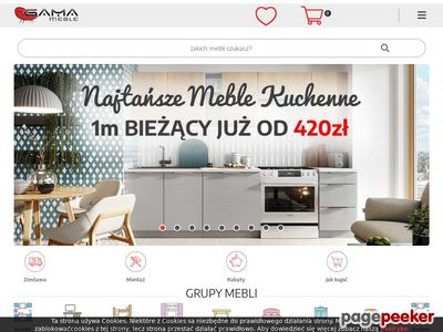 Meble - Internetowy Sklep Meblowy Gama