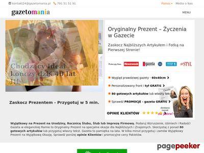 Oryginalny Prezent - Gazetomania.pl