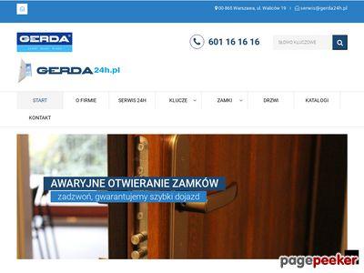 Pogotowie ślusarskie, zamkowe Warszawa