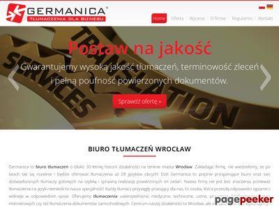 Tłumaczenia z niemieckiego - Wrocław