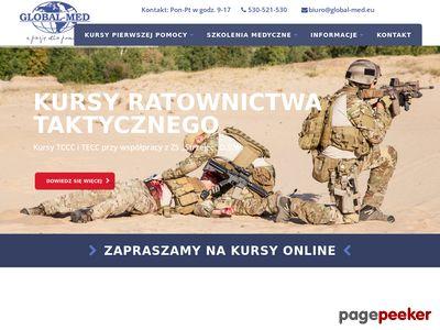 Kurs pierwszej pomocy Łódź