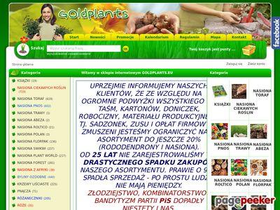 Sklep ogrodniczy online
