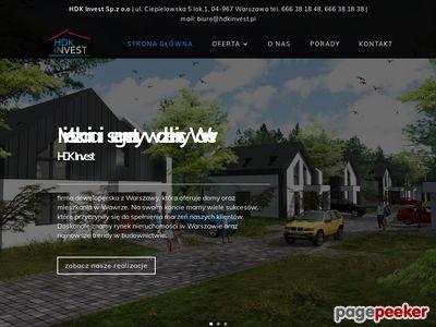 Domy Wawer Hdk Invest