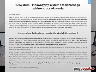 HD System - program do głosowania