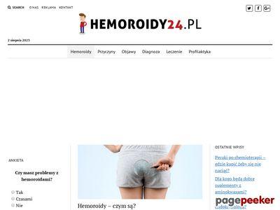 Hemoroidy - kompendium wiedzy
