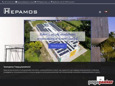 Hepamos - budynki modułowe