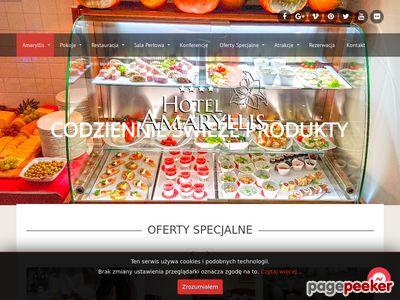 Hotel Amaryllis Zaprasza.