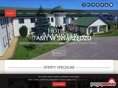 Restauracja i Hotel w Swarzędzu - Amaryllis