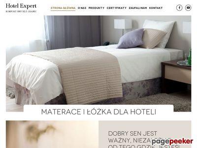 Materace dla hoteli