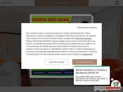 HOTEL BOSS Organizacja konferencji