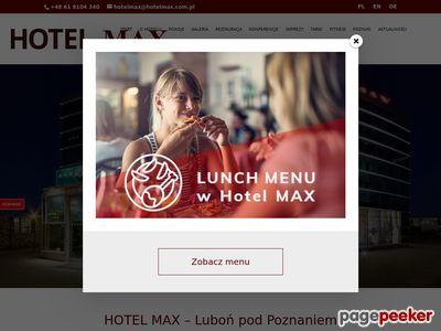Hotel MAX - Poznań - Luboń (Wielkopolska)
