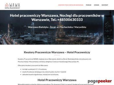 Kwatery pracownicze Warszawa
