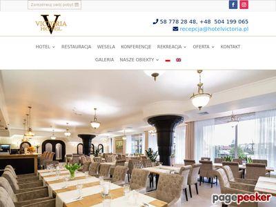 Hotel Spa Victoria nad morzem trojmiasto, obiekt konferencyjny i weselny,