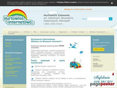 Hurtownia, importer zabawek Gdynia