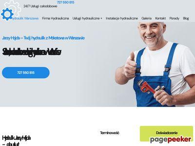 Hydraulik w Warszawie